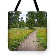 Swan Lake Trail In Grand Teton National Park-wyoming Tote Bag