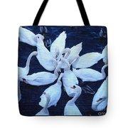 Swan Party Tote Bag