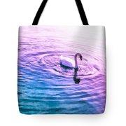 Swan Ripples Tote Bag