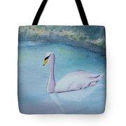 Swan Study Tote Bag