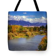 Swan Valley Autumn Tote Bag