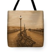 Swanage Pier Tote Bag