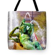 Swann Fountain Gods Tote Bag