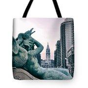 Swann Fountain Statue Tote Bag