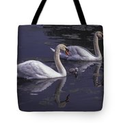 Swans And Signet Tote Bag