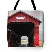Swartz Covered Bridge Ohio Tote Bag