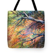 Sway Dancing Trees Tote Bag