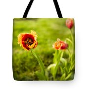 Swaying On A Breeze Tote Bag
