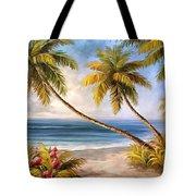 Swaying Palms Tote Bag
