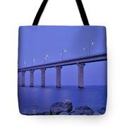 Sweden, The Bridge To The Island Tote Bag