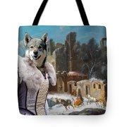 Swedish Elkhound - Jamthund Art Canvas Print  Tote Bag