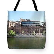 Swedish Parliament 02 Tote Bag