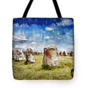 Swedish Standing Stones Tote Bag