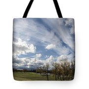 Sweeping Heaven Tote Bag