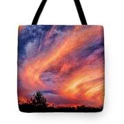 Sweeping Sunset Tote Bag