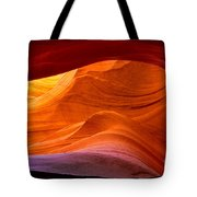 Sweeping Swirls Tote Bag