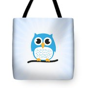 Sweet And Cute Owl Tote Bag