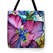Sweet And Wild In Turquoise And Pink Tote Bag