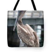 Sweet Brown Pelican - Digital Painting Tote Bag