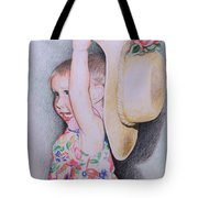 Sweet Caroline Tote Bag by Kathy Weidner