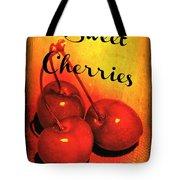 Sweet Cherries - Kitchen Art Tote Bag