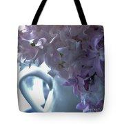 Sweet Cream Lilac Tote Bag