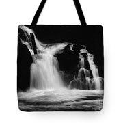 Sweet Creek Falls Oregon Monochrome Tote Bag