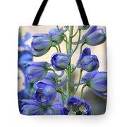 Sweet Delphinium Tote Bag