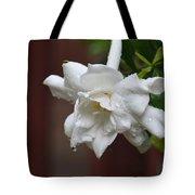 Sweet Gardenia Rain Tote Bag