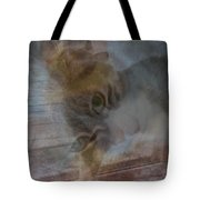 Sweet Girl On A Summer's Day Tote Bag
