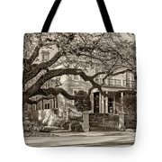 Sweet Home New Orleans 2 Sepia Tote Bag