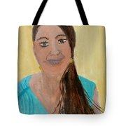 Sweet Lady  Tote Bag