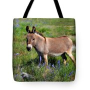 Sweet Miniature Donkey Tote Bag