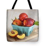 Sweet Nectarines Tote Bag