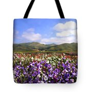 Sweet Peas Galore Tote Bag