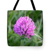 Sweet Pink Clover Tote Bag