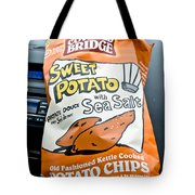 Sweet Potato Chips Tote Bag