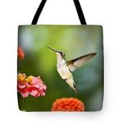 Sweet Promise Hummingbird Tote Bag