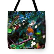 Sweet Robin Redbreast - Impressions Tote Bag