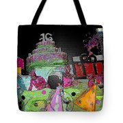 Sweet Sixteen Posterized Tote Bag