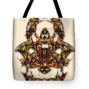 Sweet Symmetry - Kiss Tote Bag
