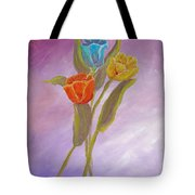 Sweet Tulips Tote Bag