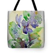 Sweet Violets Tote Bag