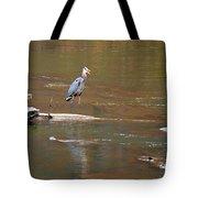 Sweetwater Creek Heron Tote Bag