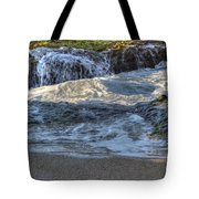 Swell And Receed  Tote Bag