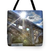 Swift Island Bridge 1 Tote Bag