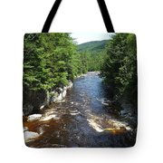 Swift River Below Rocky Gorge New Hampshire White Mountains Tote Bag