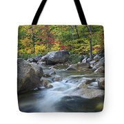 Swift River In Fall White Mountains New Tote Bag
