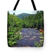 Swift River Mountain View Kancamagus Hwy Nh Tote Bag