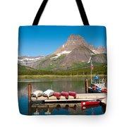 Swiftcurrent Lake Tote Bag